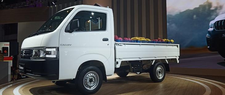 Suzuki New Carry Pick Up World Premiere Di IIMS 2018