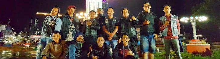 Komunitas Japs & Bratstyle Indonesia Bareng Deltalube Sukses Singgahi Titik 0 KM