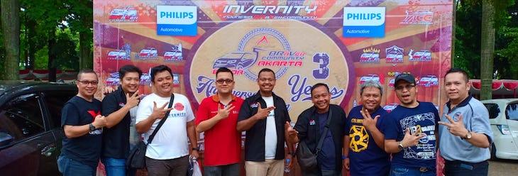 Indonesia BRaVer Community JAKARTA Ulang Tahun Ke-3 dengan Kontes Modifikasi
