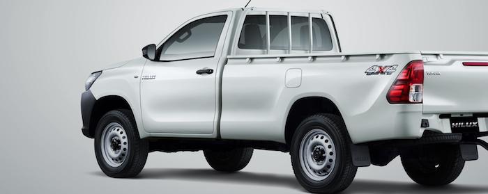 Toyota New Hilux Single Cabin Diesel Resmi Meluncur