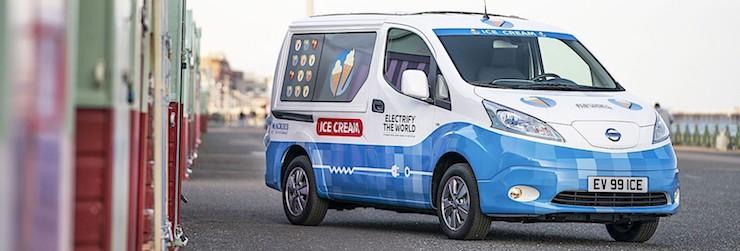 Truk Ice Cream Nissan Yang Keren Di Inggris